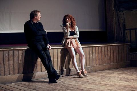David Cox with Alma Har'el